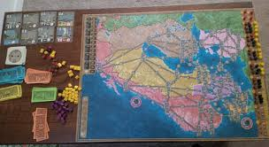 Northern Europe Map Power Grid U2013 Board And Game