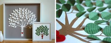 house decor idea framed paper tree of interior