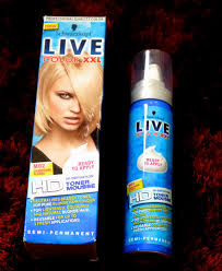 the hair live colour xxl toner mousse for blonde hair good