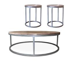 wood metal end table oval and round tables jw atlas wood co
