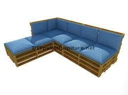 comment fabriquer un canapé en palette construire un canape avec des palettes maison design bahbe com