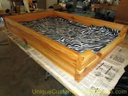 beds diy wood pet beds dog bed with steps custom made wood pet
