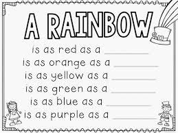 st patrick u0027s day rainbow craftivity with free writing prompt