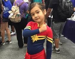 Captain Marvel Halloween Costume Marvel Costume Etsy