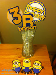 minion centerpieces our products