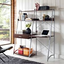 Ladder Bookcase Desk Combo Desk Ana White Build A Leaning Ladder Wall Bookshelf Free And