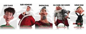 classic christmas movie characters arthur christmas squarely goes