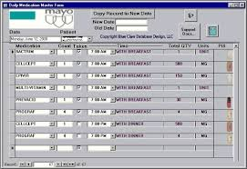 access inventory template u2013 8 free access documents download