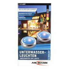 ansmann ag aqua light led shower u0026 bath spa light waterproof
