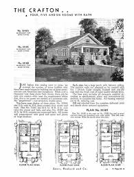 Arts And Crafts Bungalow House Plans by Sears Homes 1933 1940