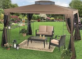 Outdoor Gazebo Curtains by Pergola Trendy Garden Beautiful Backyard Ideas With Gazebo