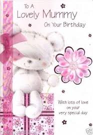 mummy birthday card colour insert birthday greeting card card