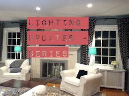 home lighting good ligh ing u in an l unfinished basement