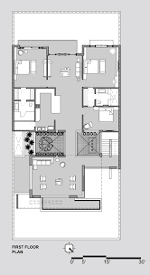 Twin Home Floor Plans Gallery Of Twin Courtyard House Charged Voids 18
