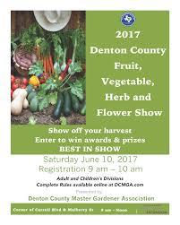 Flowers In Denton - 2017 fruit vegetable herb and flower show denton