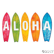 aloha surfboard cutouts oriental trading