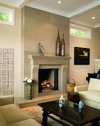 gas fireplace contemporary designs modern gallery corner