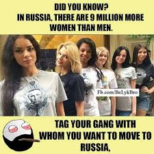 Russia Meme - dopl3r com memes did you know in russia there are 9 million