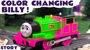learn colors thomas friends color changing billy fun