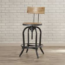 adjustable height bar stools birch lane