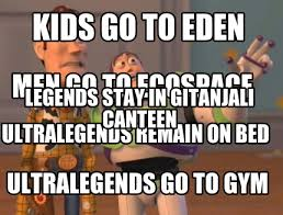 Stay In Bed Meme - meme creator kids go to eden ultralegends go to gym men go to