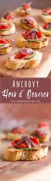 anchovy hors doeuvres with marinated roasted peppers easy party
