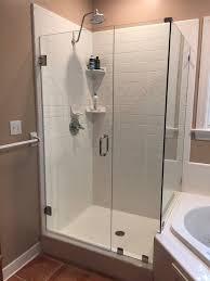 Framed Vs Frameless Shower Door Replacement Shower Door Richmond Va Framed Vs Frameless