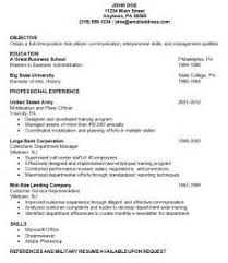 Show An Example Of A Resume by Sample Resume With No Work Experience Sample Resume With Work