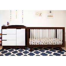Babyletto Hudson Convertible Crib Babyletto Hudson 3 In 1 Convertible Crib In Two Tone Espresso And