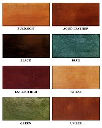 Stain Color Chart Concrete Coating Color Chart Acid Stains Nikka Corp Concrete Supplies