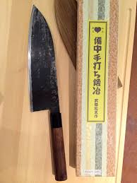 takeda as gyuto 210mm hitachi aogami super steel blade core with