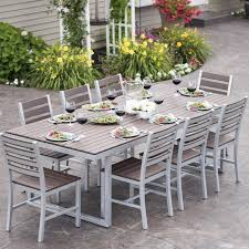 Wayfair Patio Dining Sets Wonderful 9 Patio Dining Set Home And Interior Home