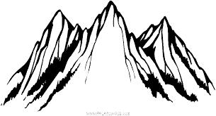 coloriage Montagne et randonnées gratuit 6577  Pays et civilizations