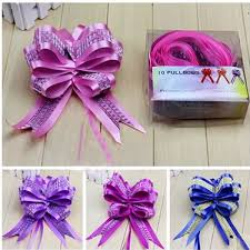 pull ribbon 10pcs lot pull flower ribbon bow 5 108cm wed direct