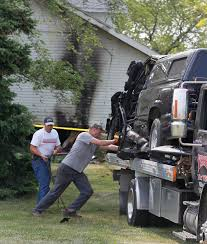 wentworth truck man dies after truck hits house in ottawa county the blade