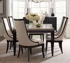 Legacy Dining Room Furniture Symphony Platinum Black Tie Extendable Rectangular Dining Room