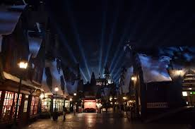 the nighttime lights at hogwarts castle archives daps magic