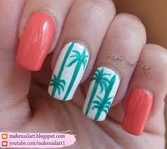 coral nail art by opi youtube me encantan uñas pinterest summer