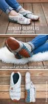 stylish modern free crochet slippers pattern for women
