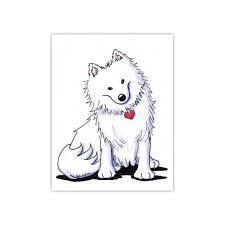 american eskimo dog vector american eskimo by kim niles dogs pinterest american