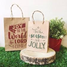 christmas paper bags printed paper bags