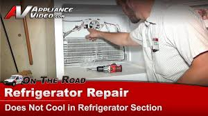 refrigerator evaporator fan replacement amana whirlpool maytag refrigerator repair not