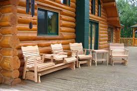 Cedar Outdoor Lawn Furniture Amish Wood Craftsmanship - Cedar outdoor furniture