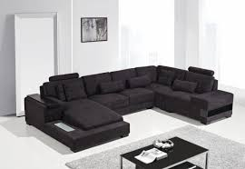 fabric sectional sofas with chaise casa modern fabric sectional sofa