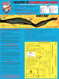Bucks County Tax Map Delaware River Tubing Rafting Canoeing And Kayaking Located