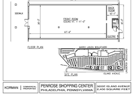 retail space floor plan penrose plaza shopping center retail space korman commercial