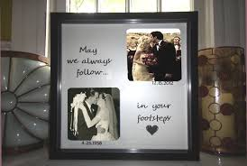 wedding gift ideas for parents parents anniversary gift wedding personalized frame diy wedding