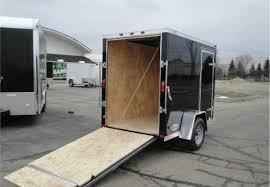 Cargo Trailer Awning Enclosed Black 5 U0027 X 8 U0027 Motiv Cargo Trailer Advantage Trailer