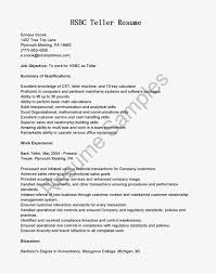 Best Resume Format For Banking Job by Resume Examples Bank Teller Objective Youtuf Com