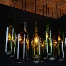 Wine Bottle Light Fixtures Wine Bottle Chandelier Dirk Nykamp Design